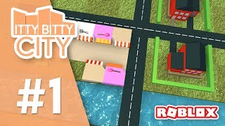Itty Bitty City #1 - MAYOR SENIAC (Roblox Itty Bitty City)