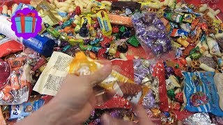 TOP 5 BEST A LOT OF CANDY VIDEOS - MANY SWEETS OPENING FOR TODDLERS - VIDEO FOR KIDS FUN