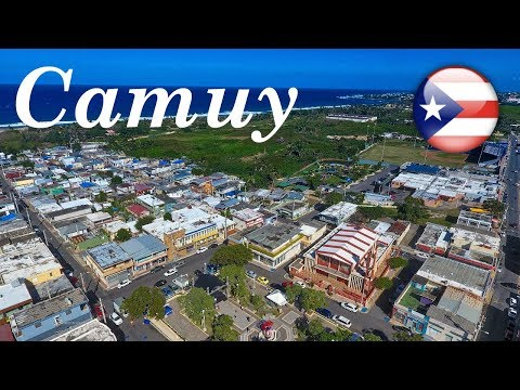 Camuy, Puerto Rico From The Air 2019