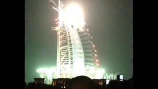 UAE 42nd National Day -  Burj Al Arab Firework Show