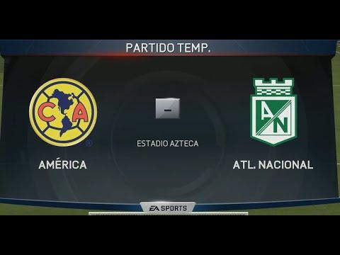 PS4 FIFA 15 AMERICA VS ATLETICO NACIONAL - YouTube