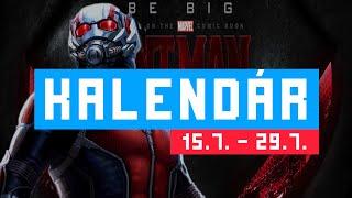 Kalendár #1 - Ant-Man, Inside Out, Southpaw