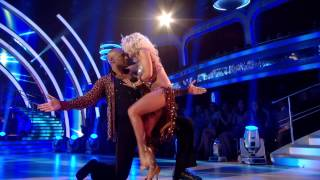 Colin Salmon & Kristina Rihanoff - Cha Cha - Week 1 - Strictly Come Dancing 2012