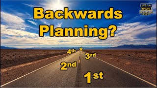 Backwards Planning - Never Be Late Again