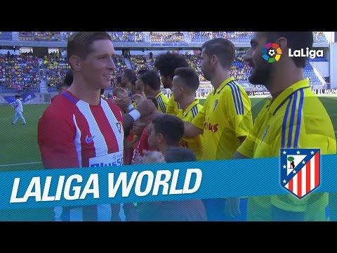 Resumen de Cádiz CF (1-1) Atlético de Madrid