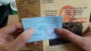 Cách xem giấy tờ đăng ký ô tô ,đăng kiểm khi mua xe ô tô cũ