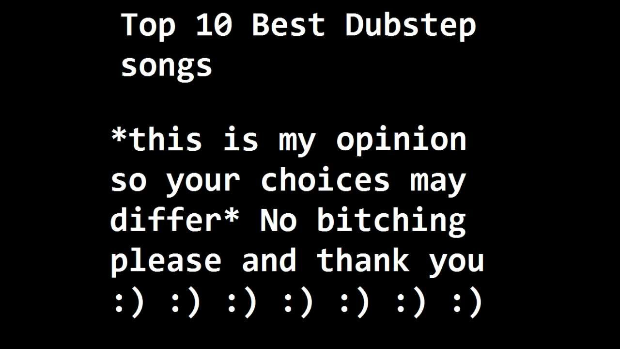what are good dubstep songs