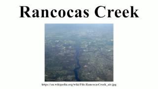 Rancocas Creek