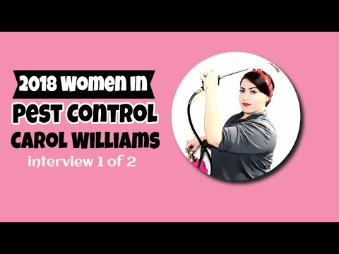 Women in Pest Control with Carol Williams 1 of 2  (Episode 26A)