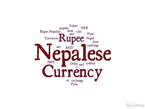 Nepalese Currency - Rupee