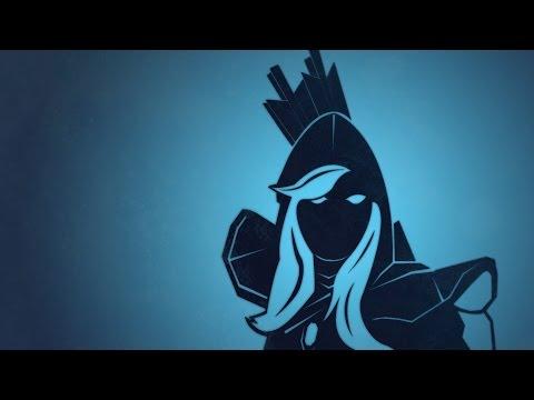 видео: dota 2 -   учимся играть за drow ranger ( Тракса )