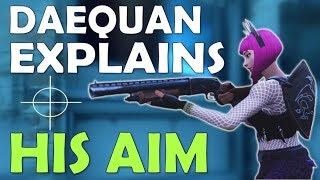 DAEQUAN'S AIM DEMONSTRATION | HIGH KILLS | FLICKS & MOVEMENT TO HIT SHOTS - (Fortnite Battle Royale) thumbnail