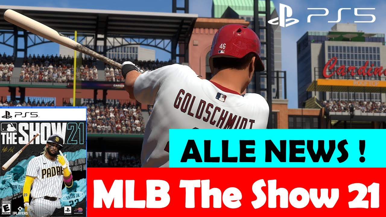 MLB The Show 21 ⚾️ Offiziell angekündigt ! ALLE NEWS im Video ! Release, Plattformen, KANALCONTENT !