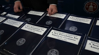 US   President Trump budget proposal calls for deep cuts to Social security, diplomacy