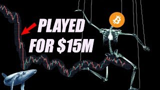 EXPLAINED!! How Bitcoin Whales Played us for $15 Million Dollars