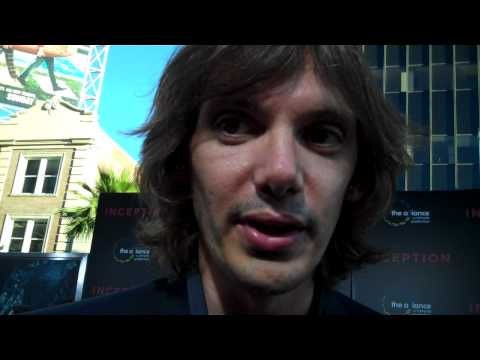 """Lukas Haas at the """"Inception"""" premiere"""