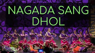 Kruti dancers perform Nagada Sang Dhol! (Movie: Ramleela, Deepika Padukone and Raveer Singh)