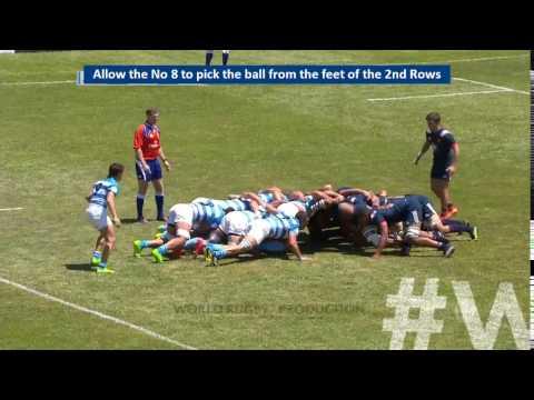 กติกา World Rugby ในปี 2017 แก้ไขเพิ่มเติม 2. Law 20.9 (b) Handling in the scrum – exception