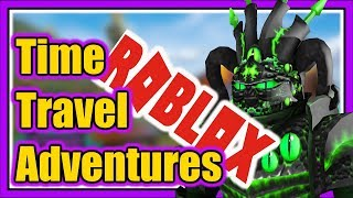 SLAYING DRAGONS in ROBLOX | TIME TRAVEL ADVENTURES