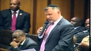 Jewish Blessing at Parliament