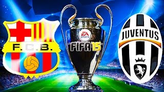 Juventus VS FC Barcelona FIFA 15 - Hike VS SnoopCreature 2015 Finals on FIFA 15