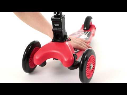 Тестируем складной трехколесный самокат Small Rider Randy 2