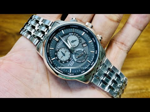 [ Review Đồng Hồ ] [ Rẻ Bền ] Citizen Eco Drive Perpetual Calendar BL8150-86H   TIMEWISE