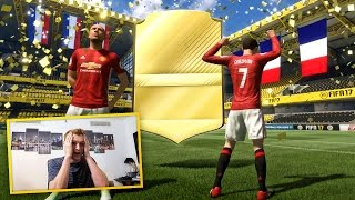 OMFG 2 WALKOUTS IN ONE PACK!!! FIFA 17 CYBER MONDAY PACK OPENING!!!