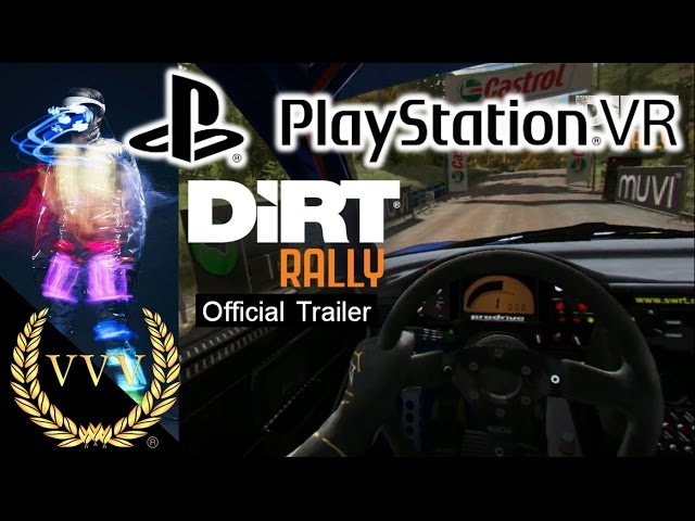 Dirt Rally PSVR Official Trailer