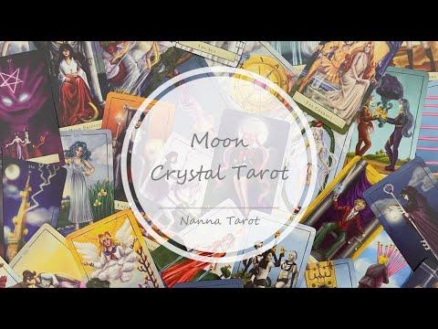 開箱  美少女戰士塔羅牌 • Moon Crystal Tarot // Nanna Tarot