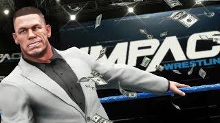 WWE 2K18 Story - John Cena Buys TNA IMPACT Wresting (Ep.16)