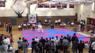 Dan Paradies Wins Fight 1:  OYAMA Karate Open Tournament in New Paltz, NY, 2013
