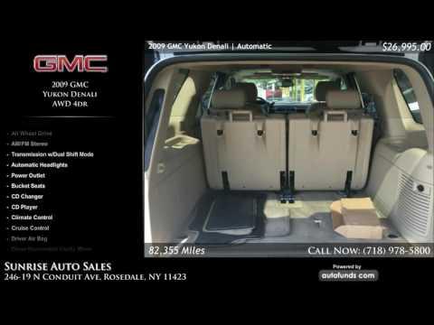 Used 2009 GMC Yukon Denali | Sunrise Auto Sales, Rosedale, NY