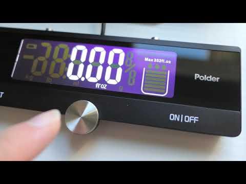 Stainless Steel - Kitchen Scale - Polder Digital