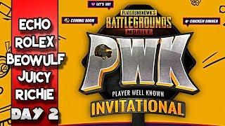 PUBG Mobile PWK Invitational Tournament | Day 2