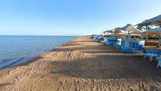 Обзор пляжа отеля Rixos Premium Seagate 5 Шарм эль Шейх Египет 2021 4K