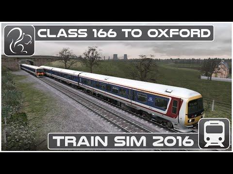 Class 166 Commuter Run to Oxford (Train Simulator 16)