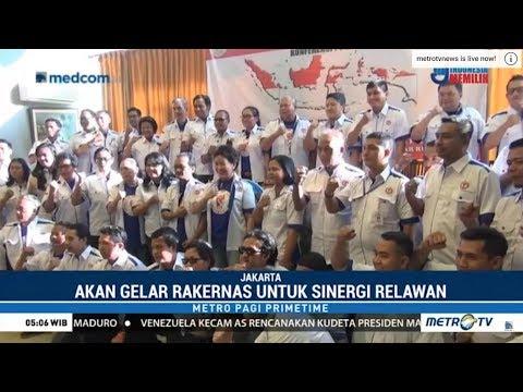"""Relawan """"Jokowi Bersatu"""" Deklarasikan Dukungan Untuk Jokowi-Ma'ruf Mp3"""
