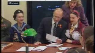 """Владимир Путин спел песню """"В землянке"""""""
