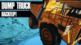 GTA 5 - Dump Truck Backflip - Epic Stunt #2