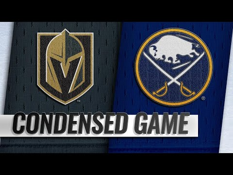 10/08/18 Condensed Game: Golden Knights @ Sabres