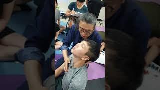 목치료 테크닉 ㅡ 한번에  경추 치료하기 ㅡ신원범교수 현장강의