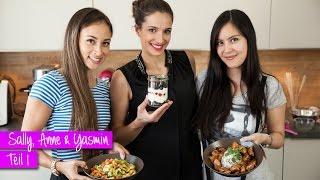 Teil 1: Girlsday mit Sally, Anne, Yasmin: Kochen, Backen, Quatschen