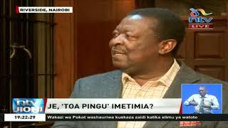 Kauli ya Musalia Mudavadi kuhusu sakata ya Kimwarer na Arror