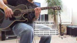Mourning Tutorial Guitar Lesson Tantric