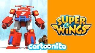 Super Wings | Mammoth Rescue | Cartoonito UK