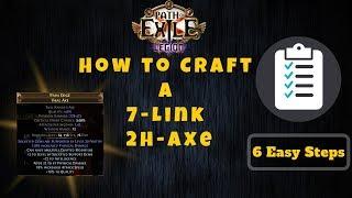 Path of Exile [3.7] 6 Einfache Schritte Crafting 2H-Axt, insane dps für Zyklon!