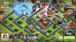 CLASH OF CLANS, EPIC ATTACKS IN CHAMPION LEAGUE!!1
