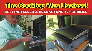 Outdoor Kitchen Useless Installing Blackstone Griddle Youtube