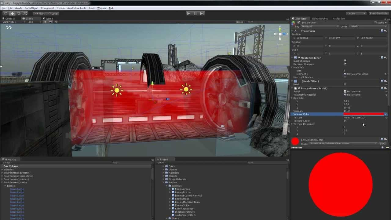 Volumetric Objects in Unity 3D
